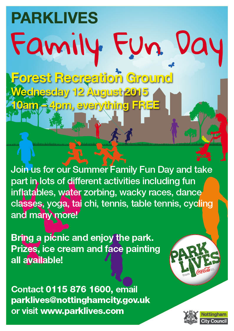 ParkLives Summer Family Fun Day