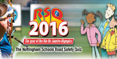 Road Safety Quizzing of children in Nottingham
