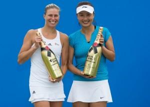 Andrea Hlavackova and Shuai Peng