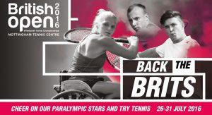 British Open promo