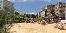 Summer starts here as Nottingham Beach opens in Old Market Square