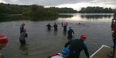 Chilly dips at Colwick Country Park