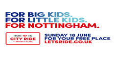 Nottingham to host HSBC UK city ride