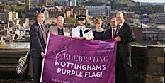 Nottingham secures Purple Flag accreditation for eighth consecutive year