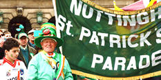 St Patrick's Day: 17 March
