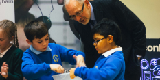 Children help launch plan to make Nottingham a science world leader