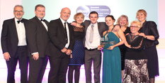 Work to support young people in care scoops award
