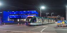 overnight tram testing to ng2