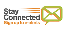 Sign up to receive event email alerts