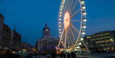 Wheel of Nottingham returns for Robin Hood Energy Light Night in tenth year