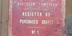 Register of purchased graves book