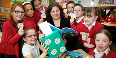 Election story book gets Nottingham school children's vote!