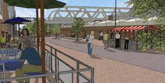Pedestrian-friendly plans for Station Street