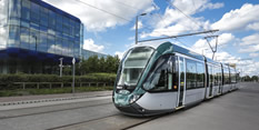 Tram Chilwell Line NG2 Business park May 2015