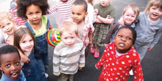 Development of children under five has improved in Nottingham