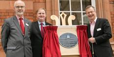 National Railway Heritage Award plaque unveiled at Nottingham Station