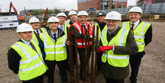 Nottingham's stunning new life sciences building takes shape