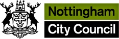 Nottingham City Council reaches out to local families.