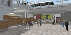Change to direction of traffic as part of Station Street improvements
