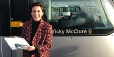 Vicky McClure Tram Naming