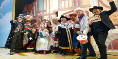 Panto audiences help raise thousands for Dolly Parton book charity