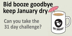 Ditch the alcohol and make January a Dry one