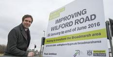 Work to prepare for transformation of Broadmarsh area starts