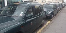 Second taxi rank for station passengers