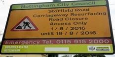 Essential road improvements in Bilborough