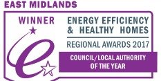 Nottingham wins Regional Council of the Year for Energy Efficiency and Healthy Homes