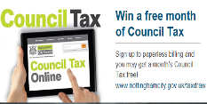 Paperless Council Tax billing is a hit