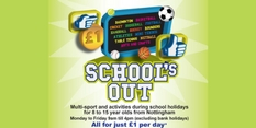 Be quids in when School's Out this May half term!