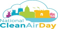 Nottingham National Clean Air Day logo