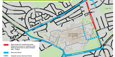 Edwards Lane resurfacing works