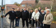 Residents welcome new pedestrian crossing in Daleside Road