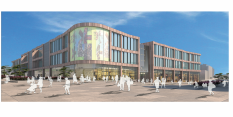 Designs for the redevelopment of Broadmarsh Car Park and Bus Station unveiled