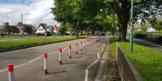 Residents' and commuters' views taken on board as Woodside Road experimental scheme ends