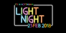 A magical night to discover your city as It's In Nottingham Light Night is announced