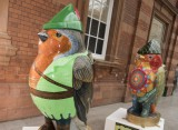 Businesses flock to the Hoodwinked robin trail