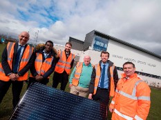 Council sites will generate ONE MILLION kilowatt hours of solar power in 2018