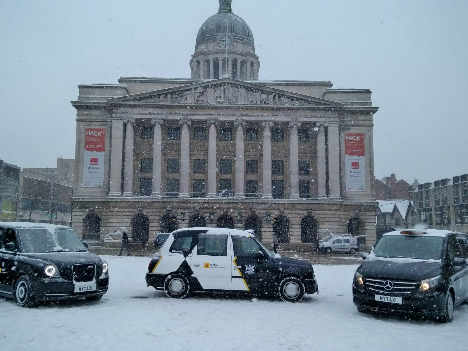 Nottingham taxis to join the top rank | My Nottingham News