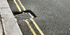 Council hit by theft of road gully grates