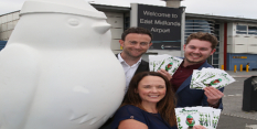 Robin takes flight thanks to East Midlands Airport