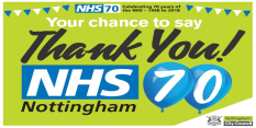 Nottingham events mark 70 years of the NHS