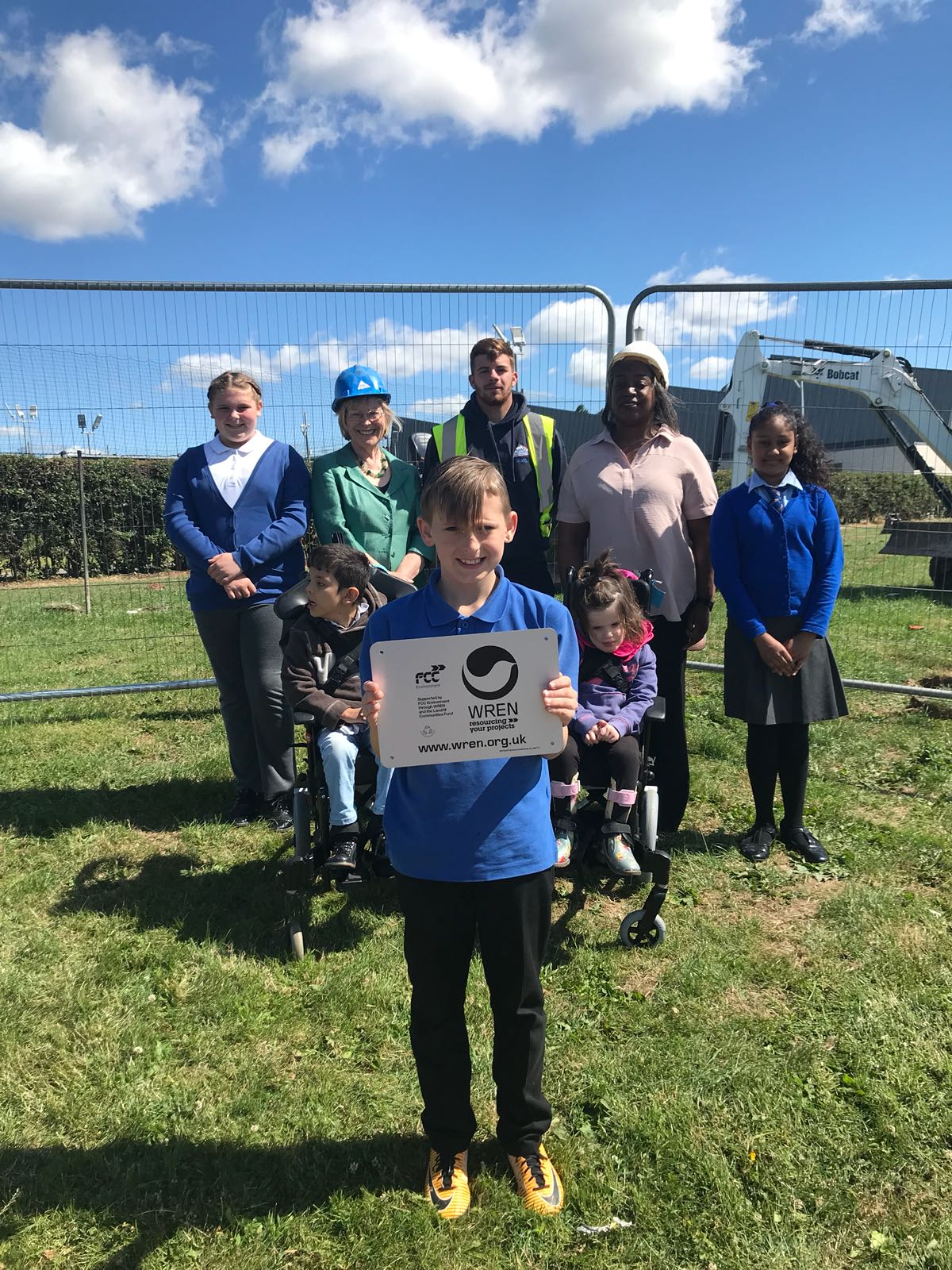 Work On New Playing Space For Children Of Bilborough Begins