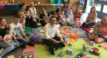 Early Intervention project praised for supporting parents