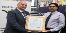 Top honour for council employee injured in line of duty