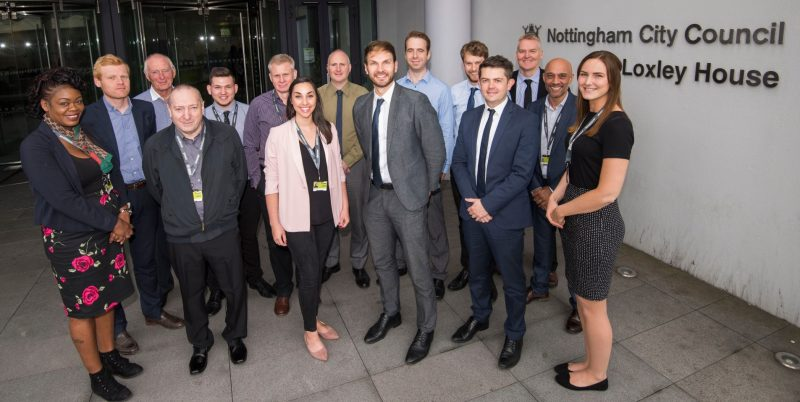 Nottingham City Council's work to reduce carbon emissions wins national award