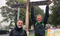 Council Leader completes a Marathon-A-Day on the Pennine Way for children's reading charity