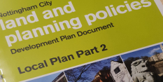 Spotlight on blueprint for Nottingham's future